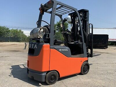 2013 Toyota BUDGET LPG Forklift-3000 Pound-Small&Compact-WE WILL SHIP!