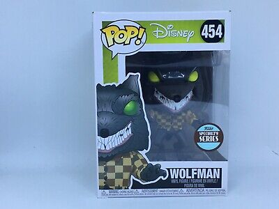 FUNKO POP Nightmare Before Christmas-Wolfman 454 32842 Vinyl Figure Disney