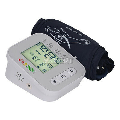 US Full-Automatic LCD Digital Upper Arm Blood Pressure Monitor Machine Home USE