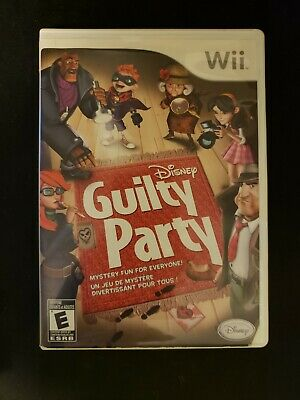Disney Guilty Party - Nintendo Wii Game Wii