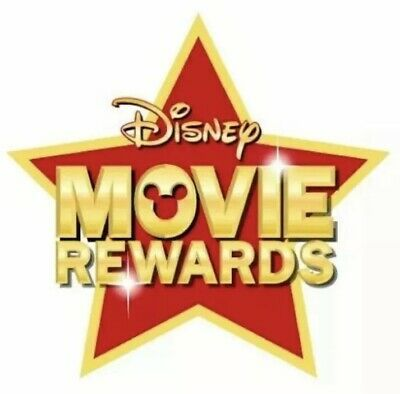 Disney Movie Rewards 200 PTS DMR Points Toy Story 4 Movie Tickets - 4 Stubs