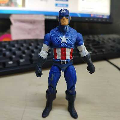 "Marvel Universe 3.75"" Captain America Loose Action Figure Avenger Boy Toy"