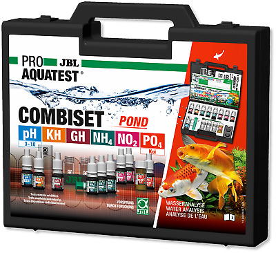 JBL Test Combi Set Pond Wassertests GartenteicheTeich Aquarium Wasser Analyse