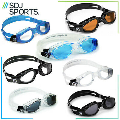 Swimming Goggles Aqua Sphere Kaiman Adult Anti-Fog Triathlon With Uv Protection