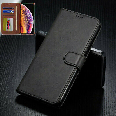 For iPhone SE 5S XS Max XR Luxury Wallet Case Leather Flip Magnetic Stand Cover