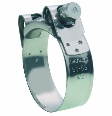 Mikalor Super Heavy Duty Clamp W2 T-Blot High Pressure Stainless Steel - Sizes