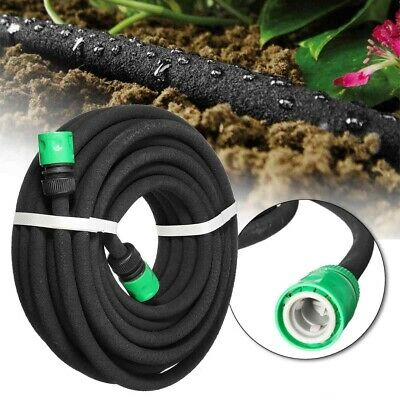 Porous Pipe Soaker Hose Irrigation System Save Water