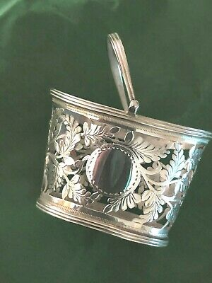 Sterling Silver Basket - Nathan & Hayes - Chester - 1902
