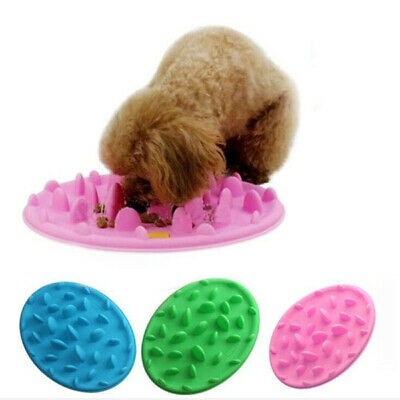 Pet Digestion Silicone Slow Feeding Puzzle Dog Cat Feeder Silicone Food Bowl