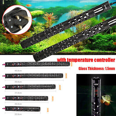 100/200/500W Digital Submersible Aquarium Heater Water Thermostat LED Fish Tank