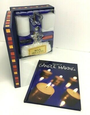 THE ART OF CANDLE MAKING Book & Kit NEW Wax Pellets / Wicks / Moulds / Fragance