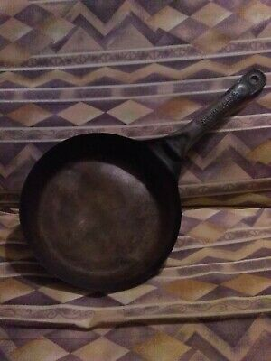 Vintage Camp Fire Vintage Frying Pan Skillet Cold Handle L&G Mfg. Co
