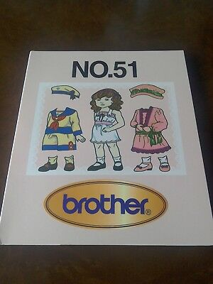 Brother Embroidery Card