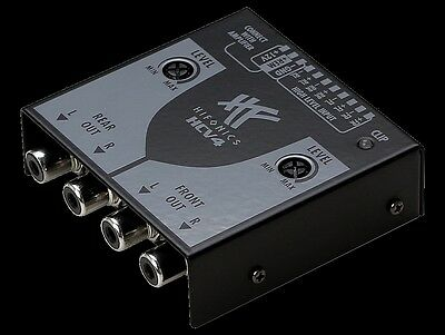 Hifonics Hcv4 High To Low Level Converter 4 Kanal Signalwandler