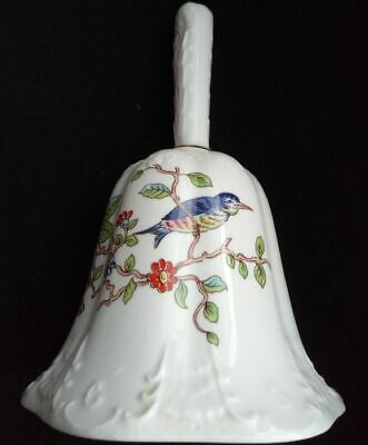 Tischglocke Aynsley Pembroke Fine bone China Made in England bauchige Form
