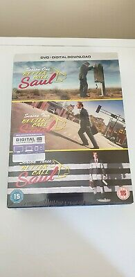 Better Call Saul Complete Seasons 1-3 DVD Box Set With UV Copy **New & Sealed**