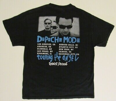 Depeche Mode Playing The Angel/Touring The Angel Concert (L) T-Shirt 2005/2006