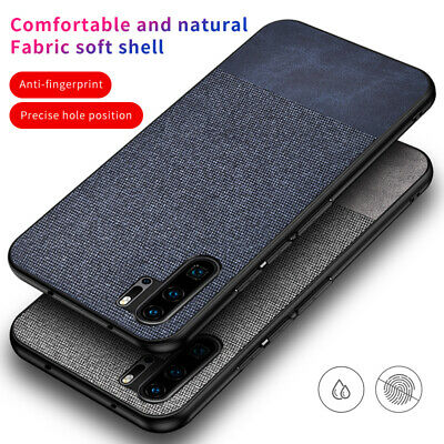 For Huawei Mate 20 lite Pro P30 P20 Pro Shockproof Nylon Carbon Fiber Case Cover