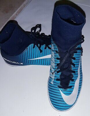 Nike Mercurialx Victory Vi Df Ic Ice Navy Weiss Blau Gr 36