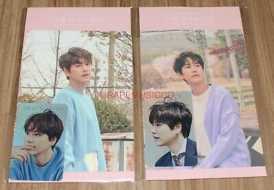 KYUHYUN The day we meet again SMTOWN OFFICIAL GOODS HOLOGRAM PHOTO CARD SET A+B