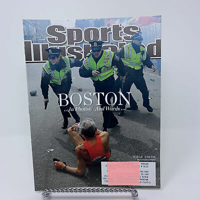 Sports Illustrated Magazine April 22, 2013 Boston