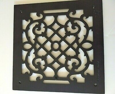 Cast Iron Floor/Wall Grille, Register, Return, Grate