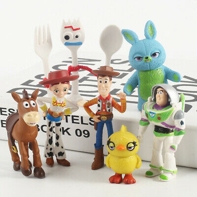 Hot Toy Story 4 Forky Bunny Buzz Lightyear Woody Alien Action figure  toy 2019