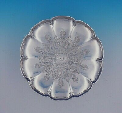 Persian by Tiffany and Co Sterling Silver Serving Tray / Cake Stand (#3406)