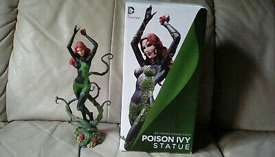 poison ivy cover girl statue