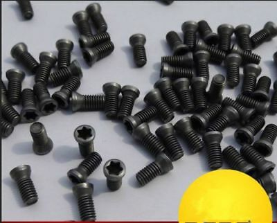 US Stock 10pcs M6 x 16mm Insert Torx Screw For Replaces Carbide Insert CNC Lathe