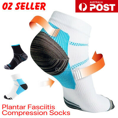 2PCS Plantar Fasciitis Relief Foot Pain Sleeves Heel Ankle Sox Compression Socks