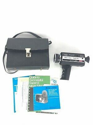 Bell & Howell Director Series Movie Camera Slow Motion Vintage Retro Decor