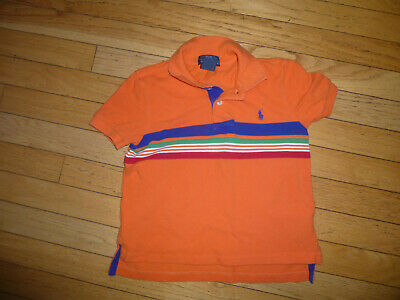 Ralph Lauren Polo  Toddler Boys Shirt   Size 4/4T Orange