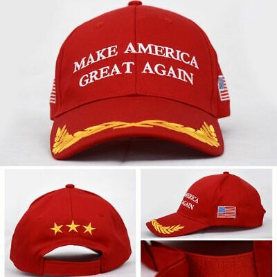 2020 Make America Great Again Hat Donald Trump Us President Republican Cap Red