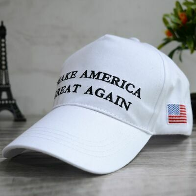 President Donald Trump Make America Great Again Hat MAGA US Republican Cap White
