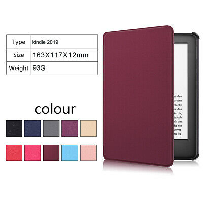 For 658 Kindle Paperwhite 2019 Smart Thin Leather Sleep Awake Flip Cover Case