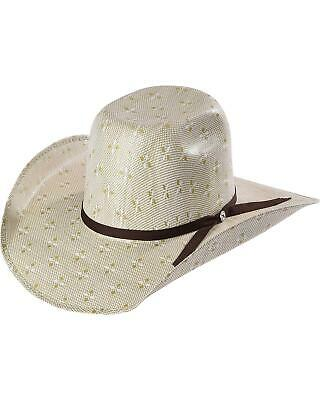 2498f7f4d72aea Hooey by Resistol Men's Natural Pecos Straw Cowboy Hat - RSHOPC-8342GN