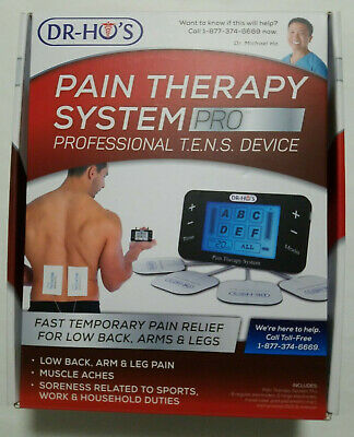 DR-HO'S ® Pain Therapy System Pro Basic Package Professional T.E.N.S. Device