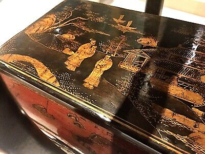 Vintage Chinese Chinoiserie Box