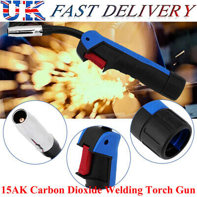 1pc 15AK Carbon Dioxide Welding MIG/MAG Torch Gun Part Replacement Head Newly UK