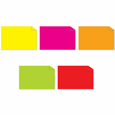 Tape Logic Inventory Rectangle Labels Fluorescent Pack Assorted Colors 5000/Case