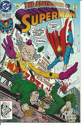 The Adventures Of Superman   N° 496  ( Doomsday ) -  Dc  1992 ( Comics Usa )