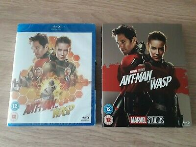 Ant-man and the wasp Blu ray Sealed With Limited phase 3 limited slipcover.