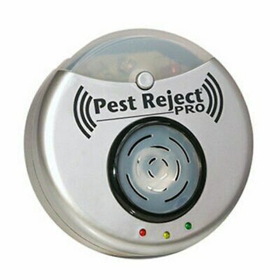 Pest Reject Anti Insect Ultrasonic 300 Mq Coverage Repeller Electronic Mouse Fly