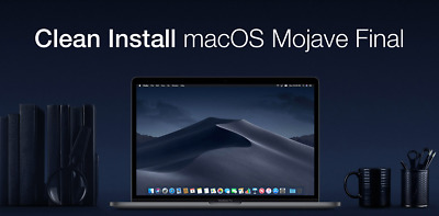 MACOS X MOJAVE Boot Install USB Recovery Repair Upgrade