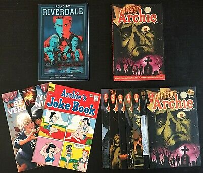 Afterlife With Archie Lot Issues #1-6, Variant TPB Riverdale Betty Veronica NICE