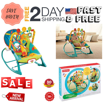 Toddler Rocker Dark Safari For Baby Bouncer And Vibrating Chair Perfect For Baby