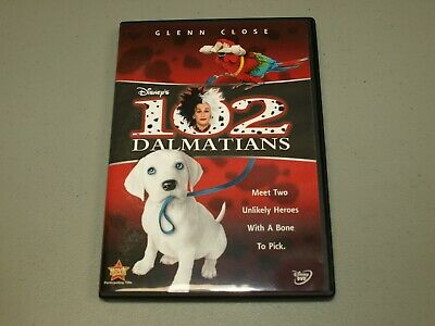 Disney 102 Dalmatians DVD 2008, Glenn Close    RARE
