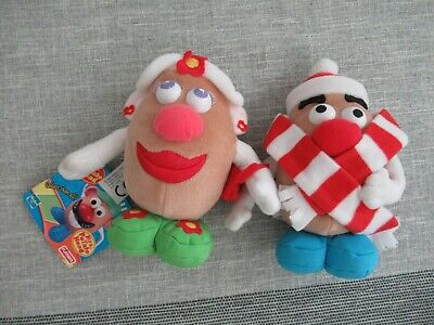 Mr & Mrs Potato Head Toy Story Disney soft plush figure toy playset bundle tag