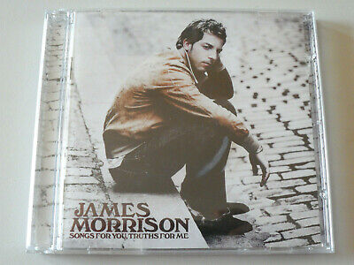 SONGS FOR YOU, TRUTHS FOR ME by JAMES MORRISON CD 2008 Polydor GREAT CONDITION
